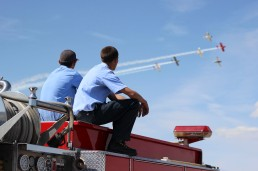 Firemen at the Airshow | Lancaster, CA